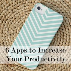 6 apps to increase your productivity