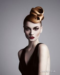 Nadege Faverais 2012 Southern Hairdresser of the Year Finalist - British Hairdressing Awards 2012
