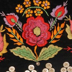 decoration on a bodice - Ethnographic Pattern Book