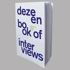 Dezeen Book of Interviews launches at Clerkenwell Design Week 2014