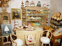 dollhouse miniature toy rooms | Dollhouse Miniatures, Miniature Food Jewelry, Craft Classes: Linda's ...