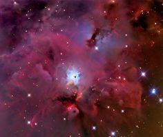 Linha D'Água Imagens Astronômicas: NGC 1999 - Nebulosa de Reflexão ao Sul de Órion