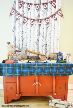 DIY Lumberjack Birthday Party