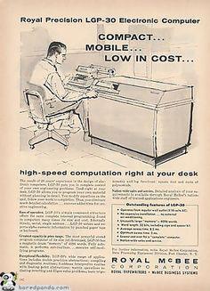 Royal McBee Corporation Vintage Ad
