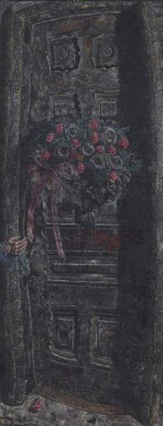 That Which I Should Have Done I Did Not Do (The Door), by Ivan Albright