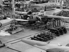 de Havilland Mosquito Factory, Leavesden, Herts 1943 a | by kitchener.lord