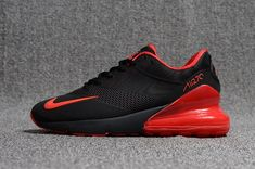 The Nike Air Max 270 KPU Running shoes Shoes For Sale is a new lifestyle shoe from Nike. It features slip-on construction with a mix of mesh, foam, and new Air unit cushioning. Mens Running, Running Shoes For Men, Running Shoes Nike, Red Shoes, Red And Black Shoes, Shoe Websites, Air Max 270, Red Huraches, Mens Nike Air
