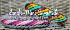 Luna's Mini Caramella Paracord Tutorial, Bracelet Tutorial, Paracord Beads, Paracord Knots, Paracord Bracelets, Swiss Paracord, Mini Dogs, Paracord Projects, Fabric Jewelry