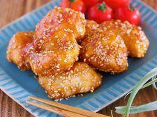 油は大さじ2♪むね肉で作る♪『揚げない鶏唐の甘酢ごまあえ』 by Yuu   レシピサイト「Nadia   ナディア」プロの料理を無料で検索