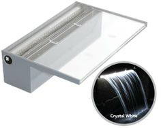 Found it at Wayfair - Colorfall with LED Outdoor Wall Fountains, Garden Water Fountains, Outdoor Walls, Water Gardens, Water Wall Fountain, Water Fountain Design, Pool Construction, Construction Drawings, Pond Waterfall Kit