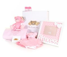 A baby gift for the little princess in your life... http://www.thecuddlebox.com/