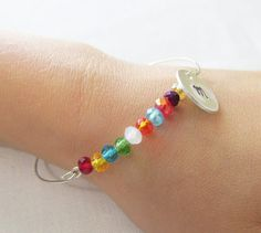 Little girl's stackable personalized by Foreverafterbeading