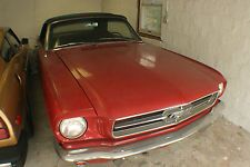 Ford : Mustang Convertible - Base Model 1965 mustang convertible 200 inline 6 3 speed