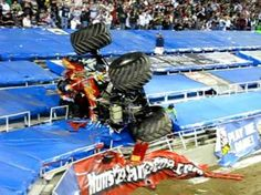 Los cinco peores accidentes de Monster Truck