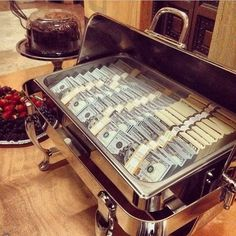 Money...it is served!
