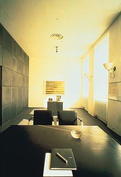 Massimo Vignelli's New York office, 1985