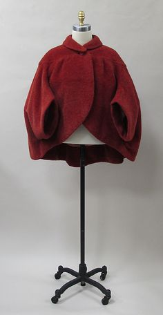 Coat, Charles James, ca. 1956, wool. -The Metropolitan Museum of Art (2013.377)