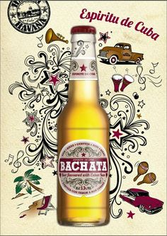 Bachata - beer with Cuban rum, found in southern Spain. Very tasty, especially if you like the sweetish taste of rum.