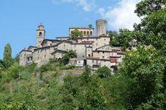 Bagnone, Lunigiana, Toscana, Italia