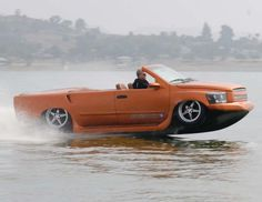 He is taking cruising to a whole new level!