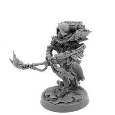 SORORITA WARRIOR BATTLE SISTER WITH HEAVY FLAMER AND GAS MASK   Exclusive Miniatures