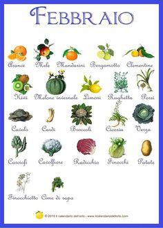 Briciole di Sapori: Febbraio... il calendario della natura