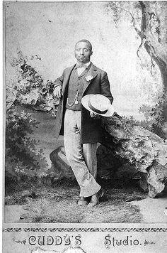 African American Man | African American man standing in long… | Flickr