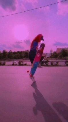 Longboard Design, Skateboard Design, Skateboard Girl, Aesthetic Songs, Aesthetic Indie, Skater Kid, Skateboard Videos, Skate Girl, Cool Skateboards