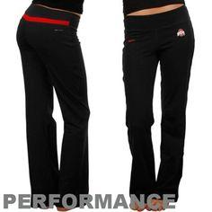 Nike Ohio State Buckeyes Ladies Black Be Strong Performance Pants