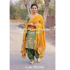 Patiala Suit Designs, Kurti Neck Designs, Kurti Designs Party Wear, Blouse Designs, Bridal Suits Punjabi, Punjabi Suits Party Wear, Indian Bridal Wear, Bridal Mehndi, Indian Wear