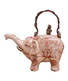 Pink Elephant Teapot by The Import Collection