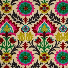 Desert Flower Santa Maria Home Decor Fabric