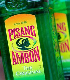 Mijn eerste alcoholische drankje..... Pisang Ambon met jus d'orange