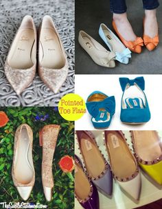 Right to the Point {Pointed Toe Flats} TheSubtleStatement.com