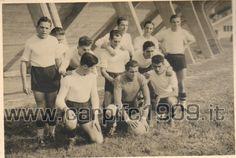 1941-42: siamo in pieno conflitto mondiale e la posizione finale in classifica (14') risente delle difficoltà del periodo. A testimonianza: il giovane portiere Ghizzoni sostituisce Pasini partito per il fronte russo.