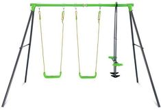 Shop online for Hurley 2 Metal Swing Set. Play now and Pay over time with Afterpay, Zip, Laybuy, LatitudePay or Humm. Toddler Swing Set, Kids Swing, Web Swing, Metal Swing Sets, Toys Australia, Plastic Components, Double Swing, Rope Ladder