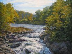 Andrew Orr 'Warm Days of Autumn' 18x24 oil  $3400