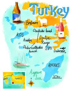 Turkey map by Scott Jessop