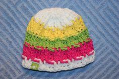 farbenfrohes Erstlings Mützchen <3 Rid, Beanie, Facebook, Hats, Handmade, Shopping, Fashion, Breien, Moda