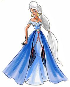 designer heroine edition: Kidagakash (Atlantis: The Lost Empire) designed by hayleythehatter@tublr