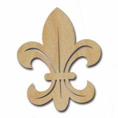 Fleur De Lis Unfinished Wood Cutout Variety of Sizes Easy Crafts To Sell, Christmas Crafts To Sell, Easy Wood Projects, Woodworking Projects That Sell, Wooden Door Hangers, Wooden Doors, Wooden Craft Shapes, Unfinished Wood Crafts, Wooden Key Holder