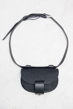 Newbark Pebbled Eva Belt Pouch $990.00 - Available now at Heist