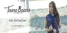 Taana baana panoramic embroidered eid dresses 2017 collection