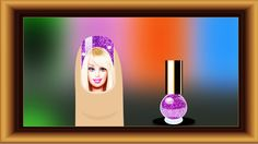 Learn Colors with Barbie NAIL ART. Colors learning Videos for Kids Toddl...