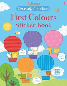 """Find out more about """"Get ready for school first colours sticker book"""", write a review or buy online."""
