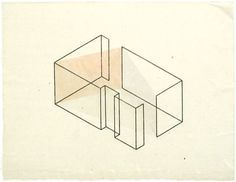 fred sandback drawings - Google Search