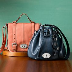 Fossil is making some nice purses lately :)