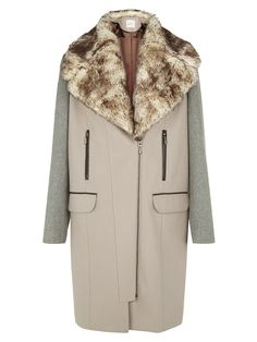 Kaiko £199.00 best deal This coat has a vintage style cut of the 1920's add a cloche hat for true 20's chic.