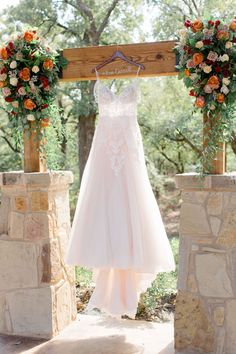 | wedding dress | princess style wedding dress | outdoor wedding | whimsical wedding | elegant rustic wedding venue | wedding venues in DFW area | best event venues in Texas | 2019 real wedding photos | fall wedding colors | photo taken at THE SPRINGS Event Venue. follow this pin to our website for more information, or to book your free tour! SPRINGS location: The Lodge at Denton, TX by: Courtney Bosworth Photography #fairytalewedding #princessweddingdress #weddingphotography…