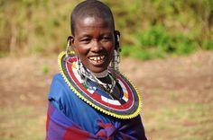 maasai woman tanzania